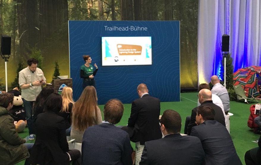 Sarah's Presentation in the Salesforce Trailhead Zone